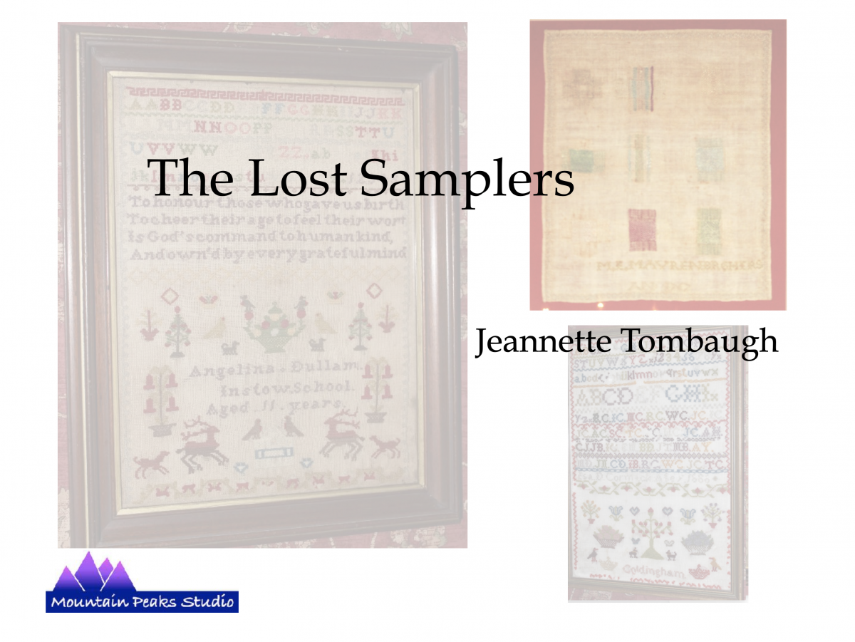 The Lost Samplers